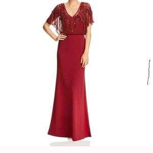 Aidon Mattox Red Gown